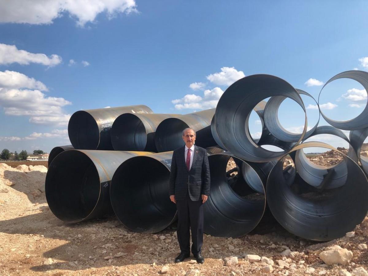 Akçakale'de Su İsale Hattı Projesi