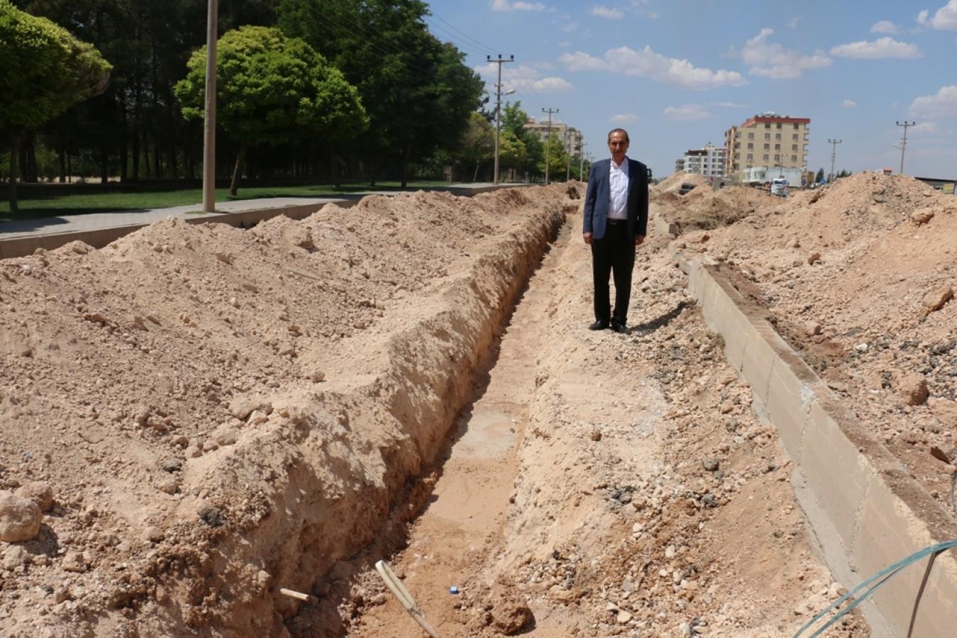 Akçakale'de İç Şebeke İçme Suyu Projesi
