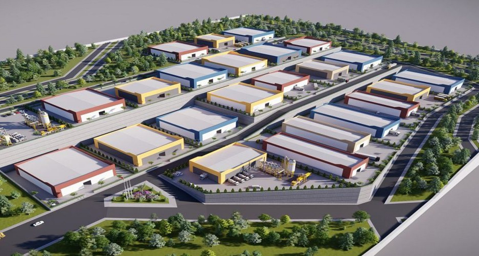 Akçakale'de Organize Sanayi Bölgesi Projesi