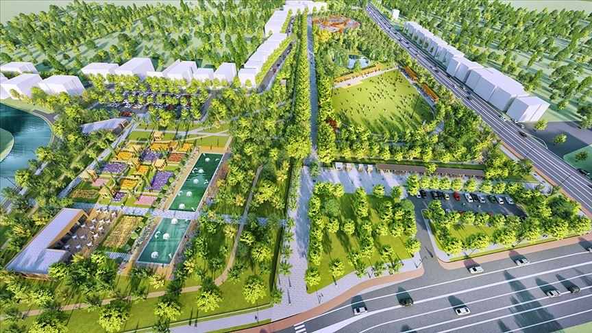 Bolatlar Millet Bahçesi Projesi