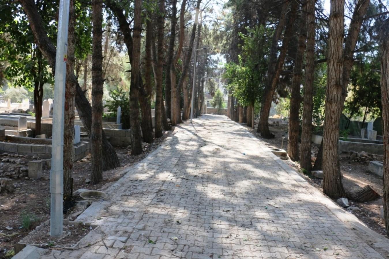 Eski Mezarlık Alanın Çevre Duvarı Onarı ve Aydınlatma Projesi